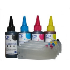 Brother Compatible LC-970 Extended Refillable Cartridges with 400ml of Archival Ink.