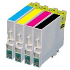 Compatible Cartridge For Epson T0555 Cartridge Set.