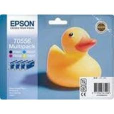 Epson Branded T0556 Ink Cartridge Set.
