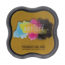 Artiste - Pigment Mini Ink Pad - Dark Yellow.