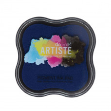 Artiste - Pigment Mini Ink Pad - Blue.
