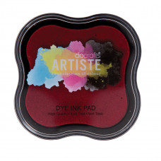 Artiste - Dye Mini Ink Pad - Red.
