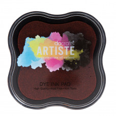 Artiste - Dye Mini Ink Pad - Dark Orange.