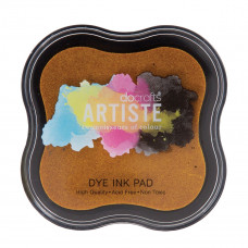 Artiste - Dye Mini Ink Pad - Dark Yellow.