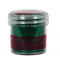PaperMania - Embossing Powder (1oz) - Tinsel Green.