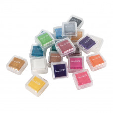 Artiste - Mini Mini Ink Pads Dye (20pk) - Assorted Colours.