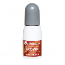 Silhouette Mint 5ml bottle of Ink Colour - Brown
