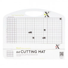 Xcut A4 Self Healing Duo Cutting Mat - Black & White.