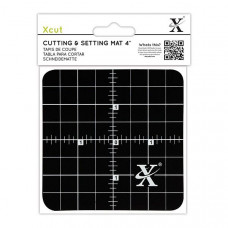 Xcut 4'' Cutting & Setting Mat - Black.