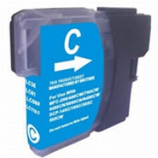 Brother Compatible LC980/985/1100 Cartridge Cyan.