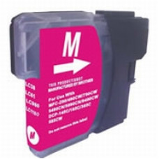 Brother Compatible LC980/985/1100 Cartridge Magenta.
