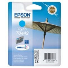 Epson Branded T0442 Cyan Ink Cartridge.