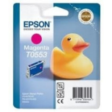 Epson Branded T0553 Magenta Ink Cartridge.
