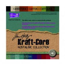 Core'dinations cardstock - Tim Holtz Kraft-Core Nostalgic Collection 6 x 6 in a 48 pack