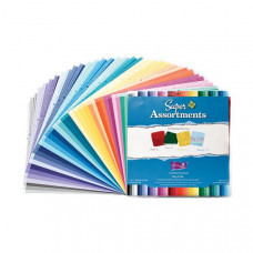 Coredinations Cardstock - Super Assortments - 12x12 , 80 Sheets - Roy B Giv