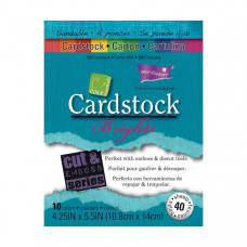 Coredinations Cardstock - Core Essentials -  4.25 x 5.5 BRIGHTS - 40 sheets