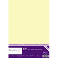 Centura Pearl, 10 Sheets of Ivory Single Side 300gsm Printable A4 Card