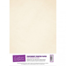 Printable 90gsm Parchment Paper in 20 sheet packs by Crafter's Companion