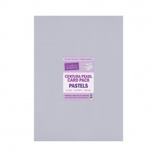 Centura Pearl A3 Printable Card Pack 300gsm - Pastels 20 sheets by Crafters Companion