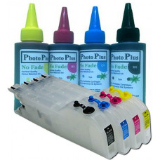 Brother Compatible LC1240 Extended Refillable Cartridges with 400ml of Archival Ink.